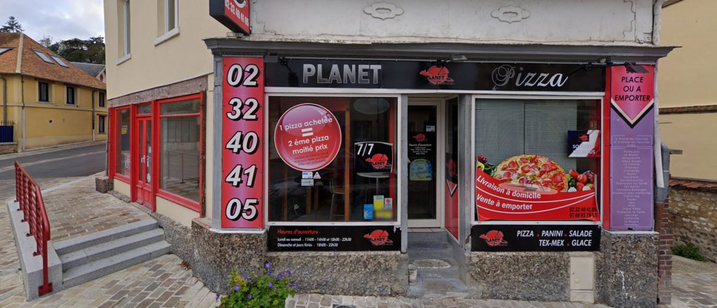 Planet Pizza à St-Pierre du Vauvray