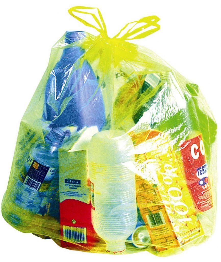 Qu'est-ce qu'on peut mettre dans nos sacs jaunes