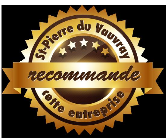 Saint-Pierre du Vauvray recommande cette entreprise