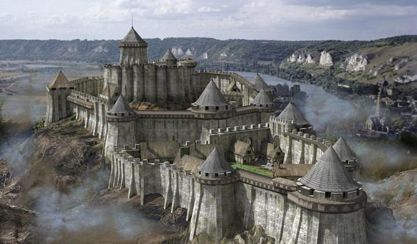 Le château Gaillard au XIIème siècle