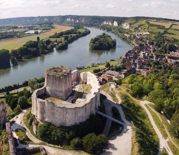 le château Gaillard, une histoire nomande