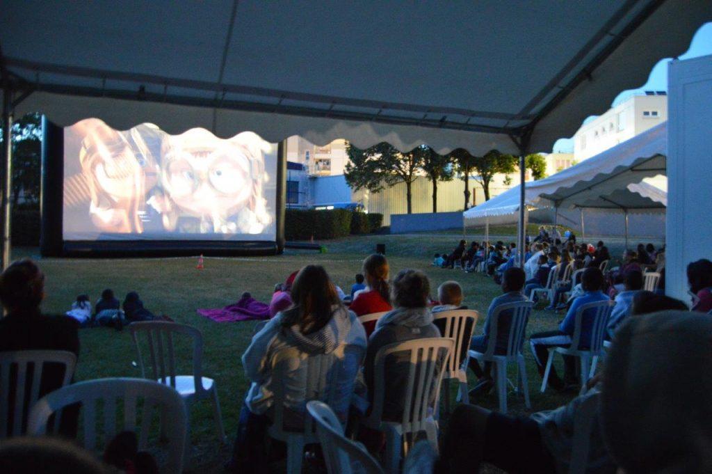 Cin'été à Val-de-Reuil, cinéma en plein air gratuit