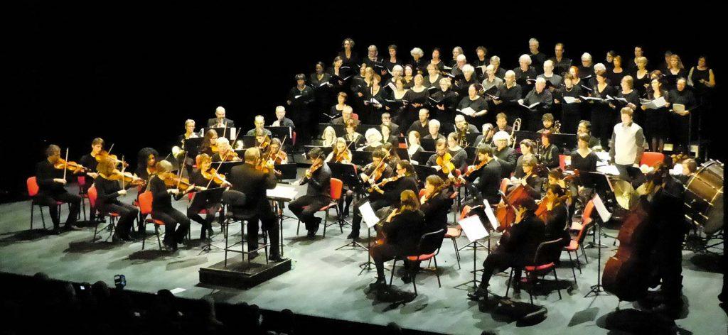 concert symphonique au théâtre de l'Arsenal de Val-de-Reuil