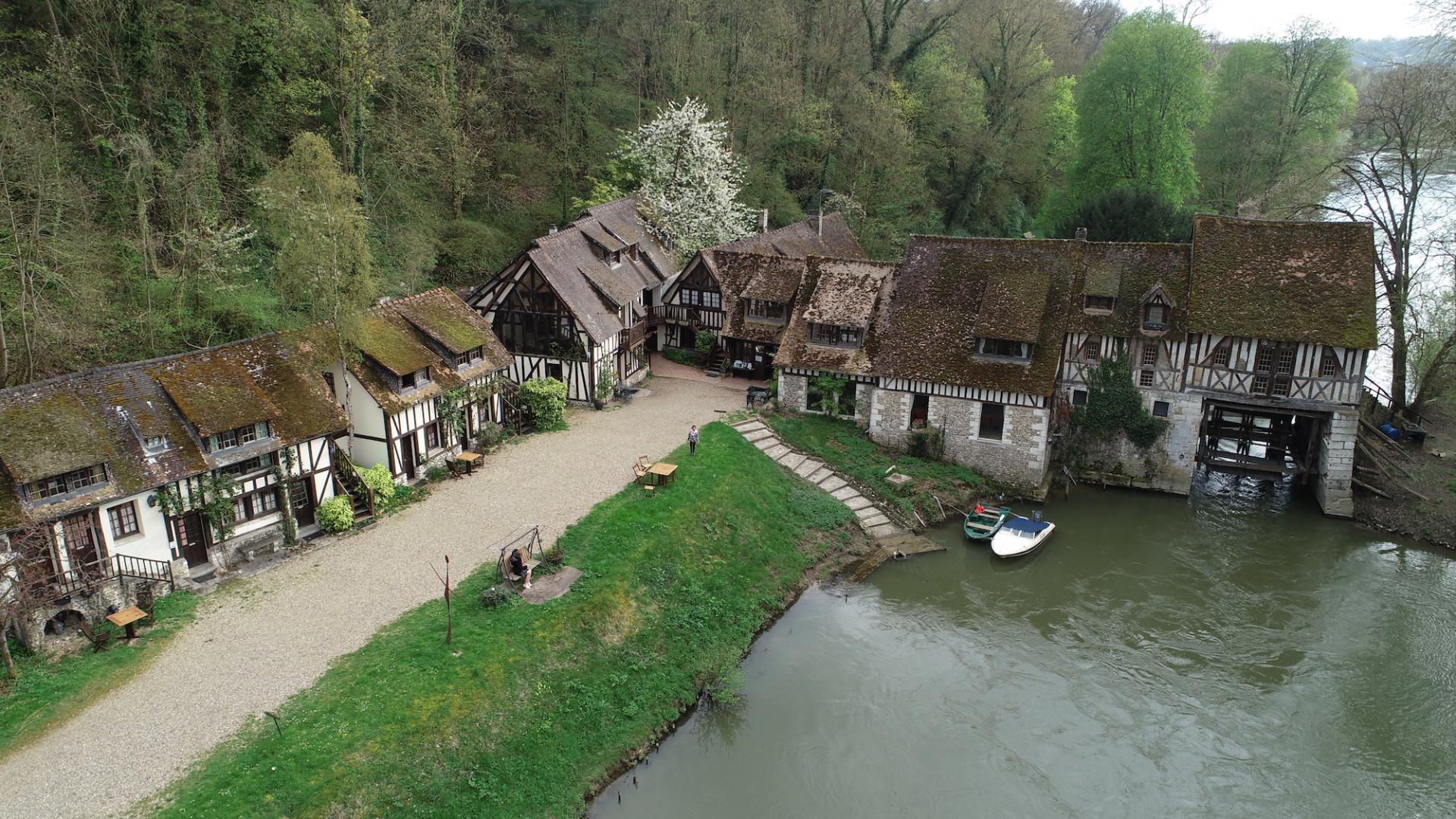 Le moulin d'Andé, monument historique classé