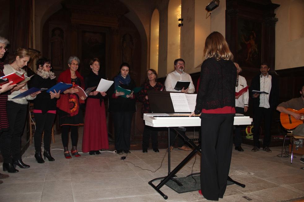 la chorale de l'IMA - Initiative Musique Amateur