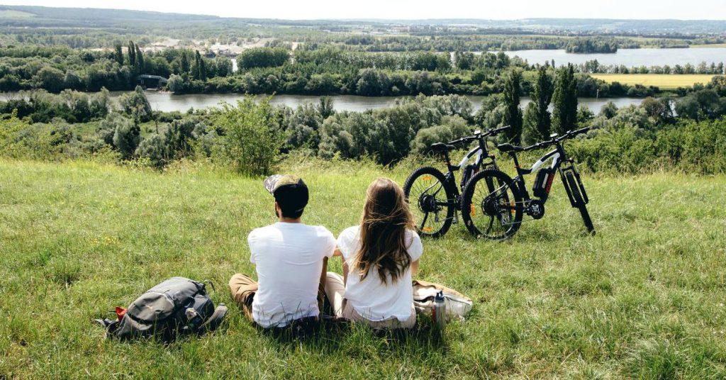 Saint-Pierre, village étape de la Seine à vélo
