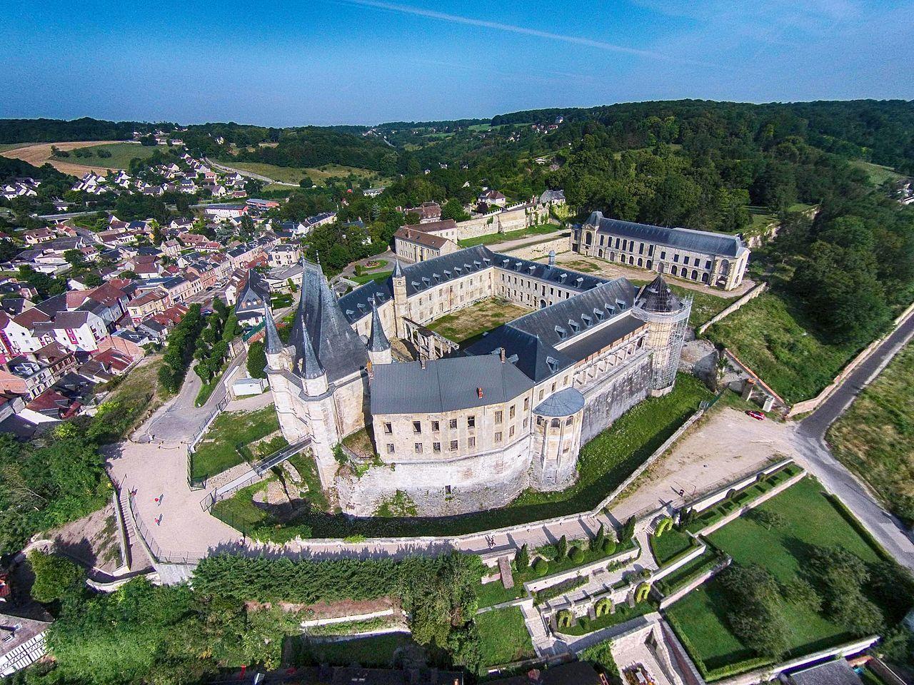 Le château de Gaillon