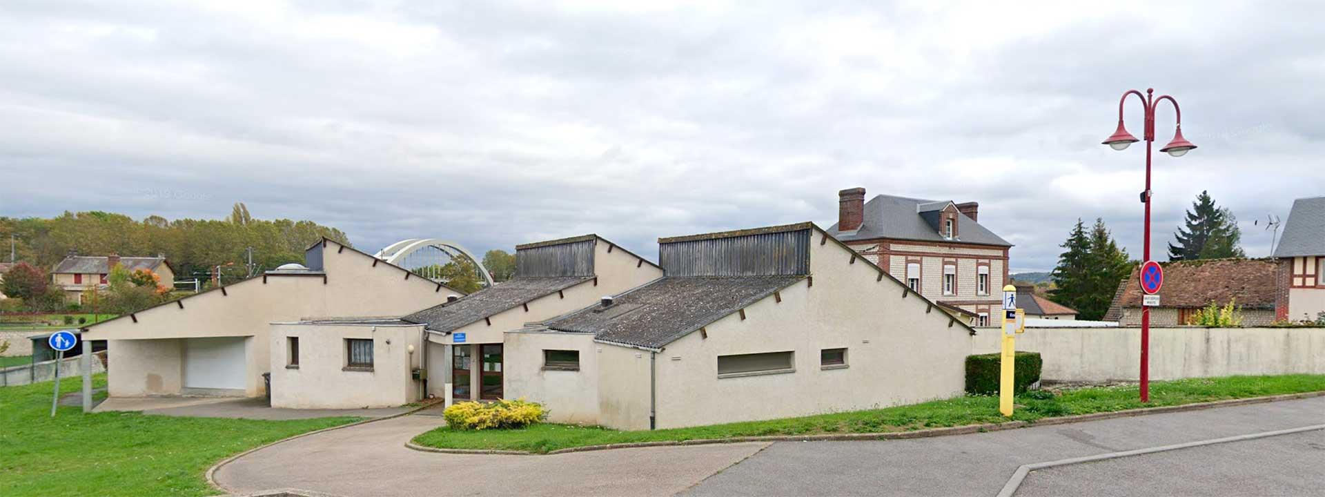 École maternelle Jean Recher à Saint-Pierre du Vauvray