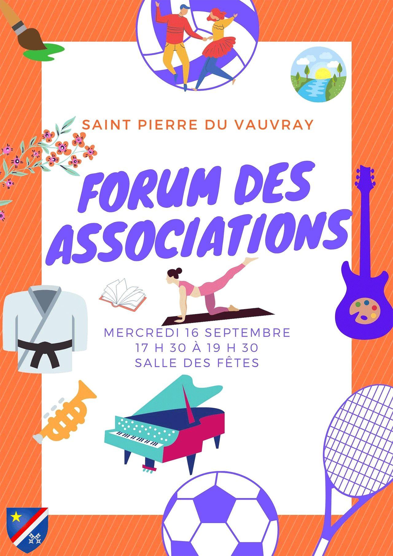 forum des associations 16 septembre 2020