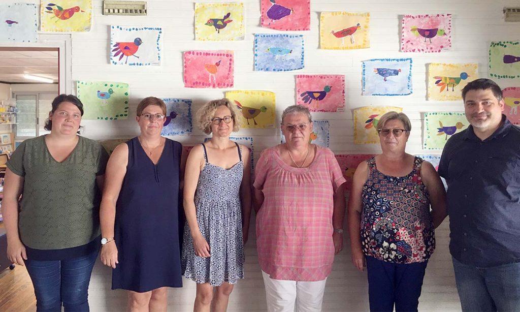 Enseignants et personnels municipaux de Saint-Pierre du Vauvray