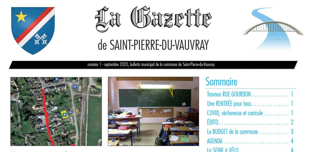Gazette de Saint-Pierre n°1