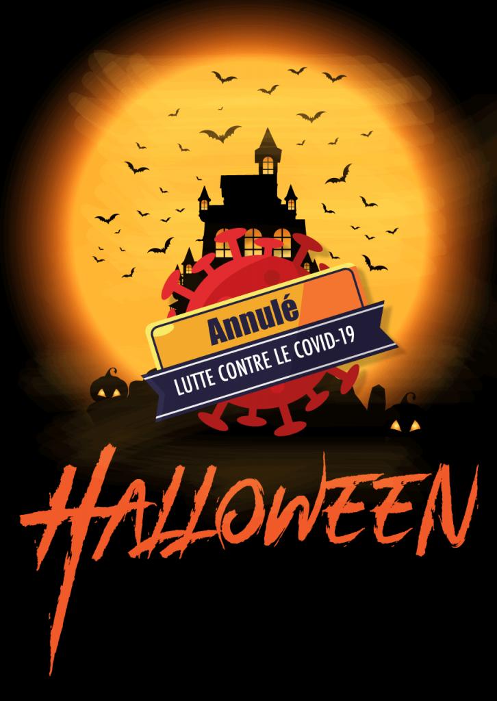 Halloween annulé à Saint-Pierre du Vauvray