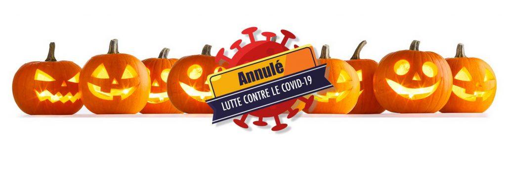Annulation de la fête d'halloween à Saint-Pierre du Vauvray