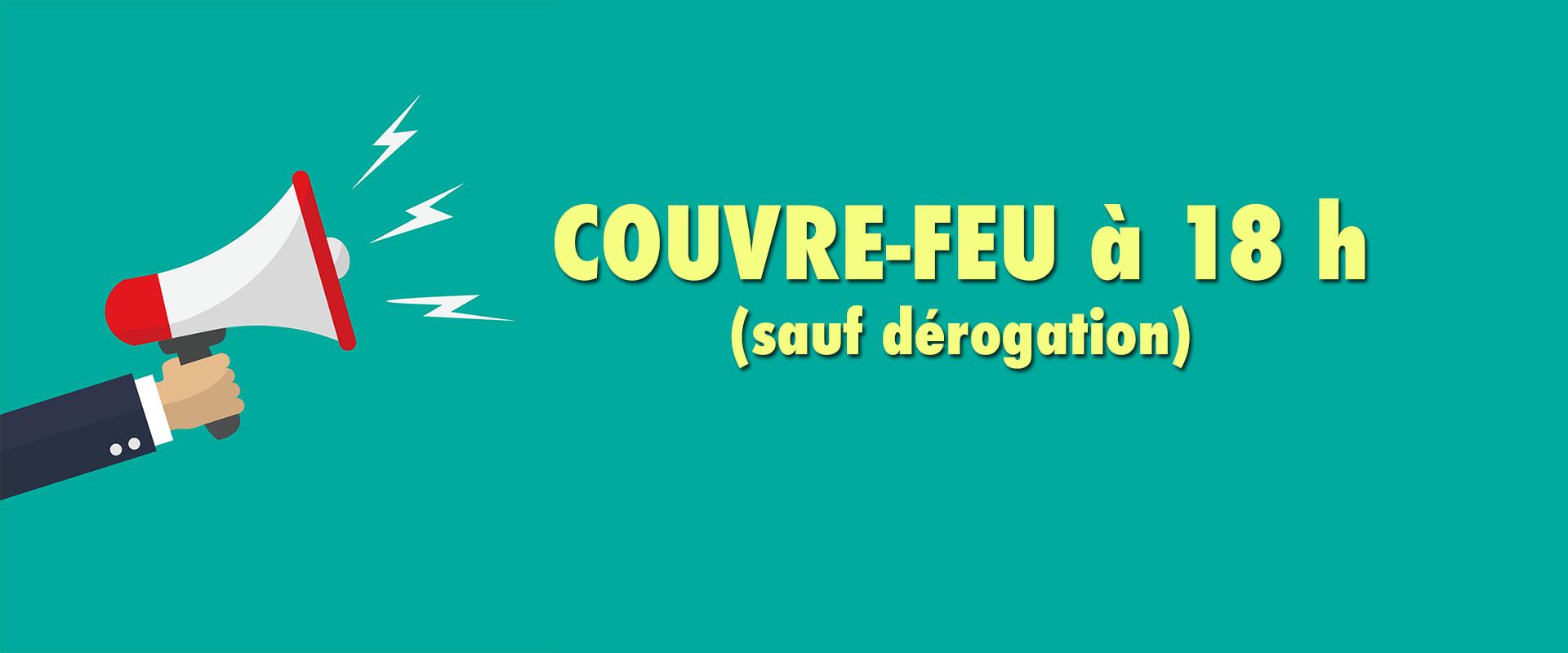 couvre-feu à 18h à Saint-Pierre