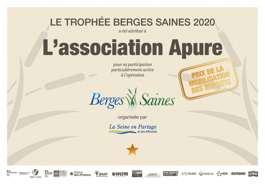 Diplômes A4 Berges Saines 2020 - Apure