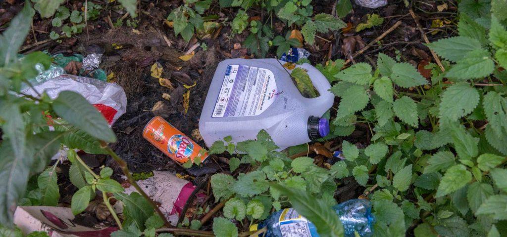 1,5 tonnes de déchets ramassés par kilomètre le long des routes