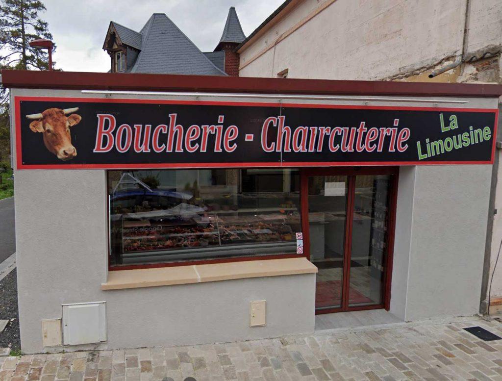 la boucherie la Limousine à Saint-Pierre du Vauvray