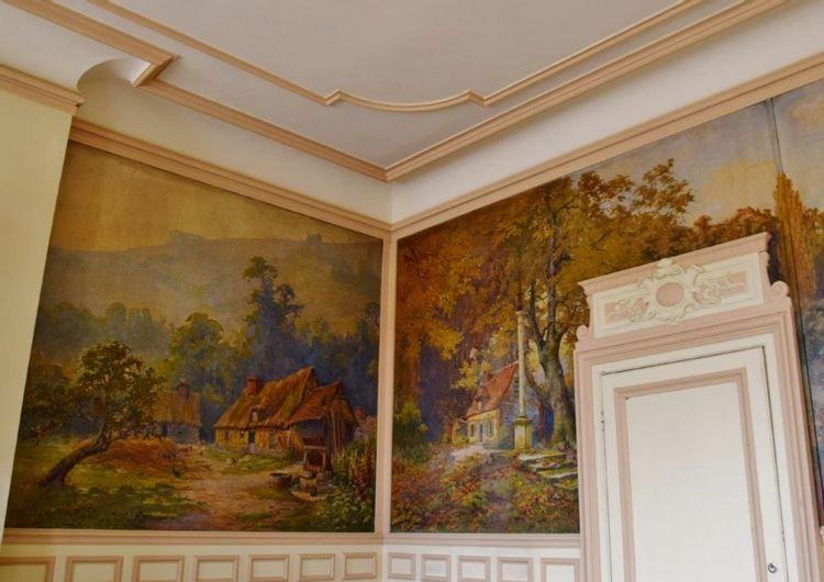 fresque Saint-Pierre du Vauvray